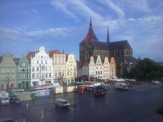 Steigenberger Hotel Sonne: Ausblick auf den Marktplatz
