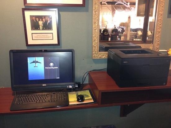 Quality Inn: complimentary business center