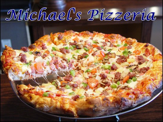 "Michael's Pizzeria : Our Flagship 'deluxe"" Pizza"