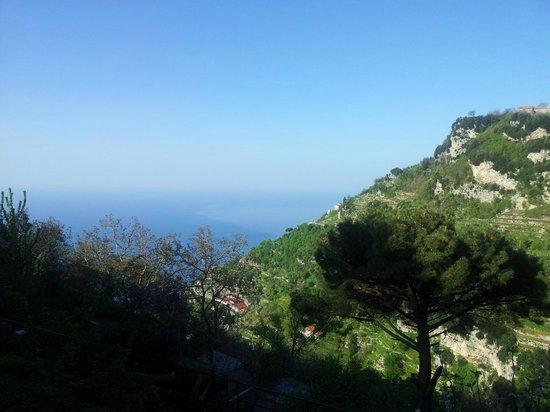 Albachiara B&B: Panorama mattutino dalla terrazza