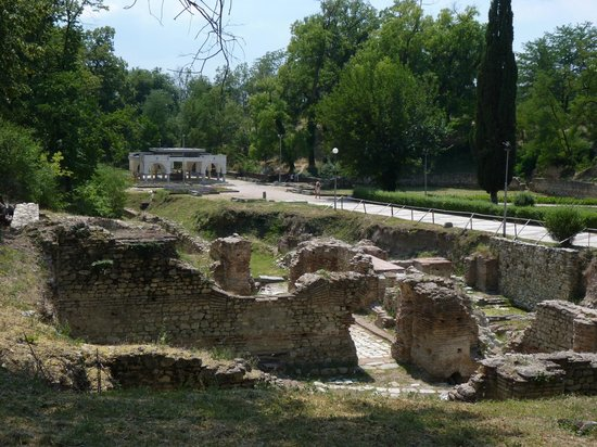 Roman Ruins and Tomb: the Roman mineral baths