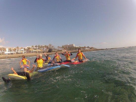 Palm Beach Surf School Tenerife: Surf is life
