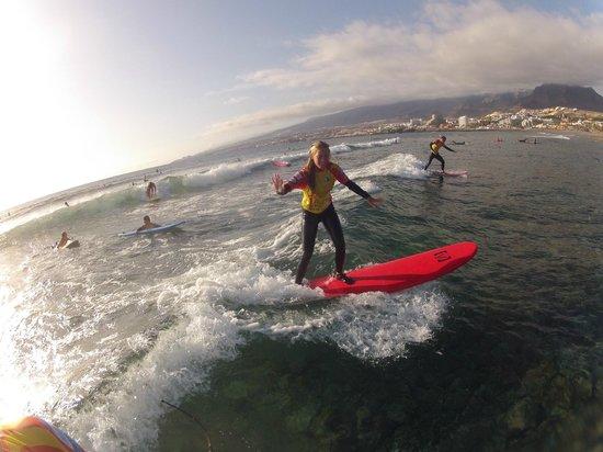 Palm Beach Surf School Tenerife: Enjoy