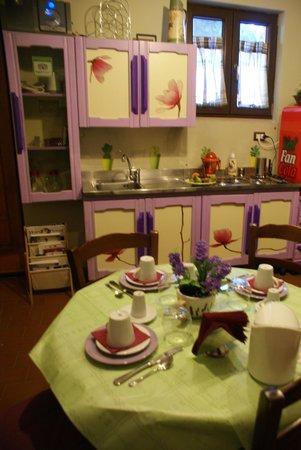 Borgo Lamurese: sala colazione