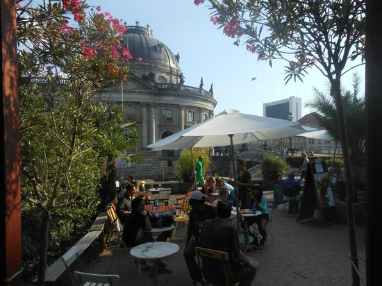 Strandbar Mitte: Bar terras
