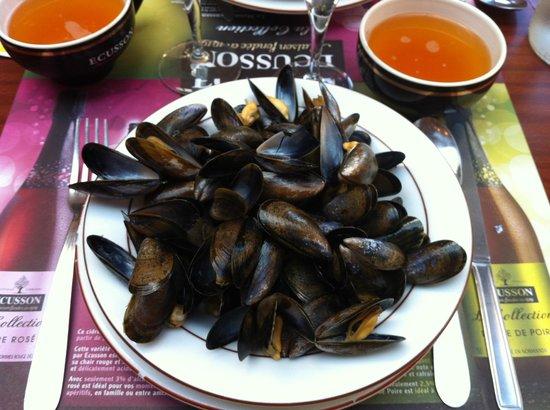 La Belle Epoque pastati & Patatate: Les moules-frites (sans les frites !)