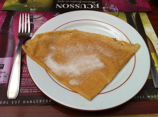 La Belle Epoque pastati & Patatate: La crêpe au sucre