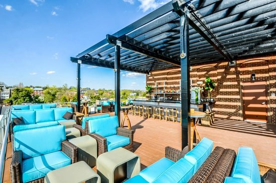 The Graham Georgetown Observatory Rooftop Lounge: Rooftop