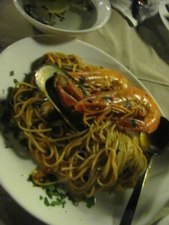 The Olive Lounge : Seafood Pasta