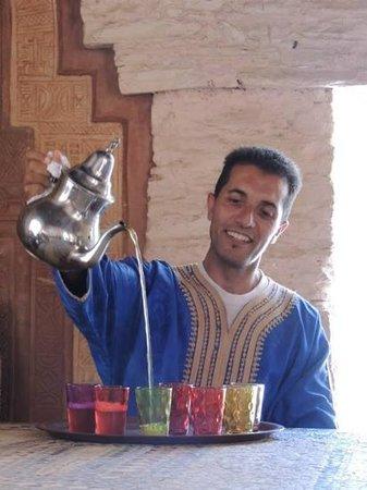 Agadir Tagesausfluge : mint tea break with Momo