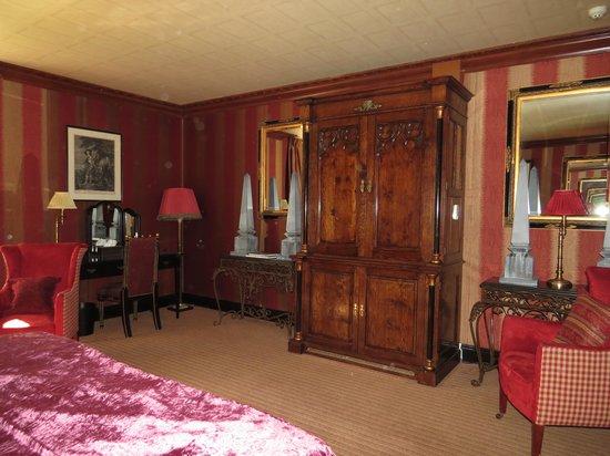 Prestonfield: Bedroom