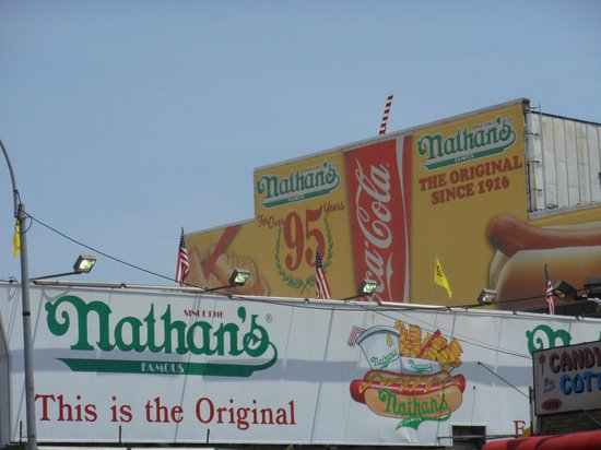 Coney Island USA: The famous Nathan's
