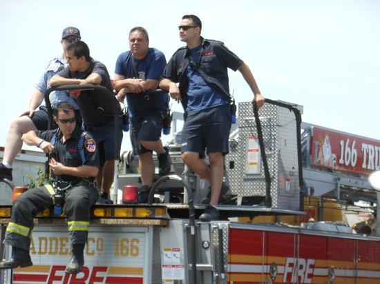 Coney Island USA: Fire crew