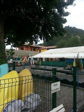 Garden sport bar