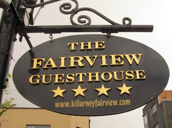 The Fairview : Hotel Sign