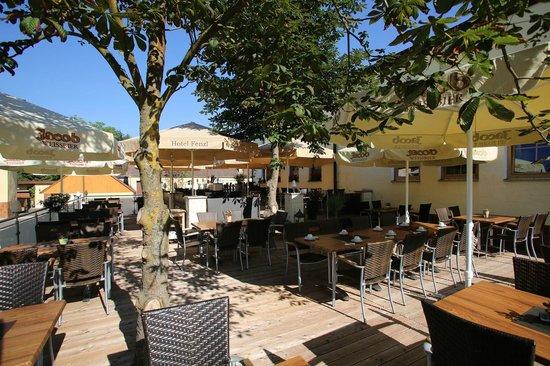 Hotel Gasthof Fenzl: Terrasse