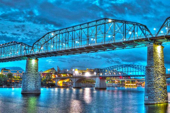 Holiday Inn Express & Suites Chattanooga Downtown: The Walnut Street Pedestrian Bridge