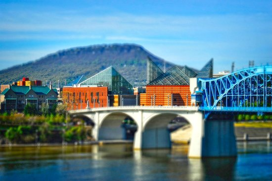 Holiday Inn Express & Suites Chattanooga Downtown: Tennesse River