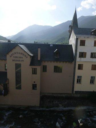 Husa Riu Nere: Vista del Ajuntament desde la habitación 312