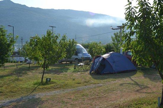 Mali Wimbledon: Camping ground