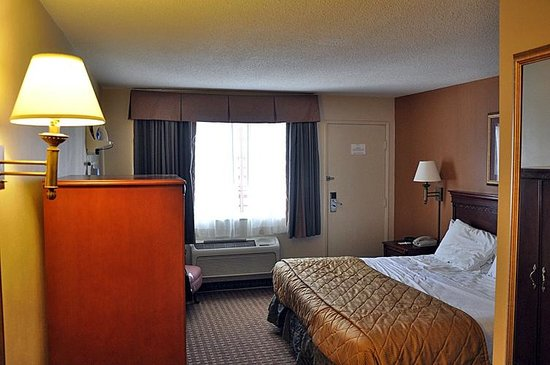 Econo Lodge Downtown : Nettes Zimmer