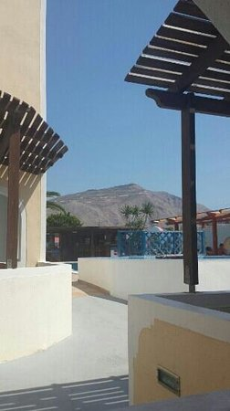 Hotel Eleftheria : The view from our terrace