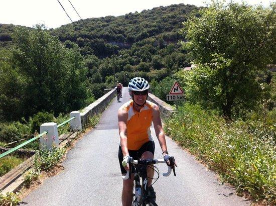 Le Saint Andre : Exploring the region on bike
