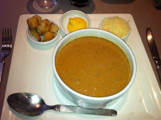 Restaurant La Lieutenance : La soupe de poissons