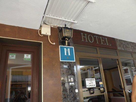 Hotel Xapala: entrée