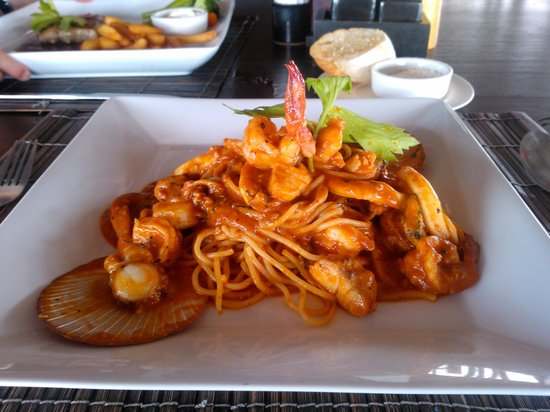Buddha View Restaurant : Seafood Spagetthi