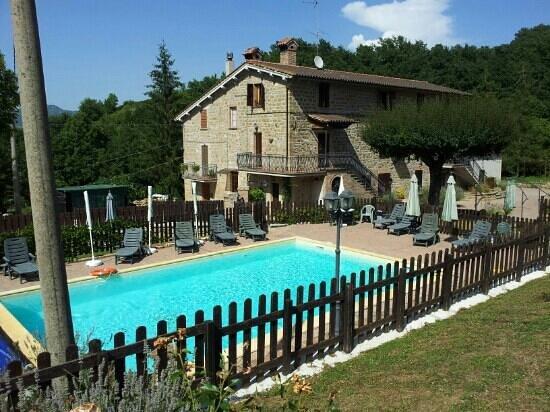 Agriturismo Ponte di Riocchio: Bella piscina