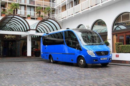 London Marriott Hotel Regents Park: Simple exteriors hide a wonderful interior