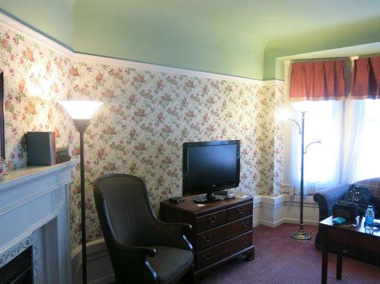 White Swan Inn: Blick ins Zimmer 2