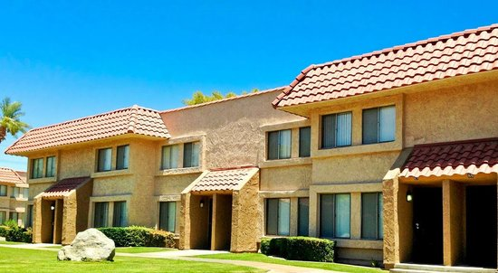 Exterior of Units at the Indian Palms Vacation Club