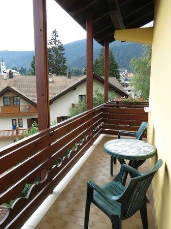 Hotel Dal Bon : Balcone