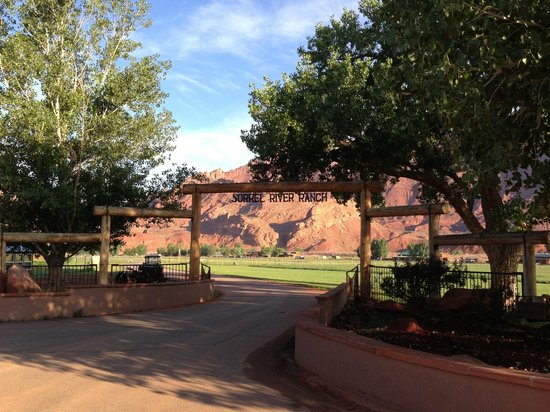 Sorrel River Ranch Resort and Spa: Entrance to Sorrel River Ranch