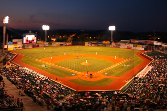 Hilton Garden Inn Chattanooga Downtown: Chattanooga Lookouts