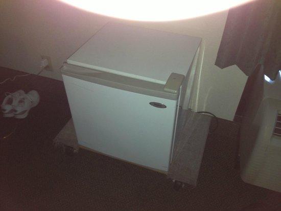 Hampton Inn Manheim Lancaster: Broken refrigertor