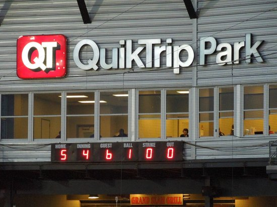 QuikTrip Park: Discount tickets are often found at the corporate sponsor!