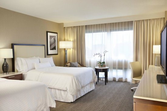 The Westin O'Hare: Newly Renovated Deluxe Double Bedded Guestroom