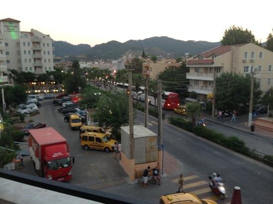 Tekin Apartments: from balcony