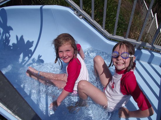 Camping du Letty : Fun on the slides