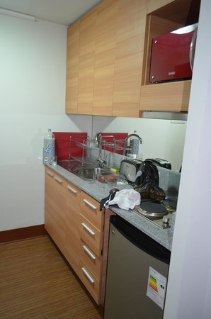 Diamond Suites: la cocina