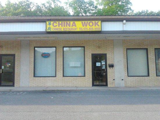 China Wok: Front View