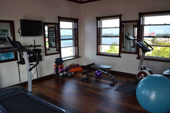 A Belizean Nirvana: Exercise room