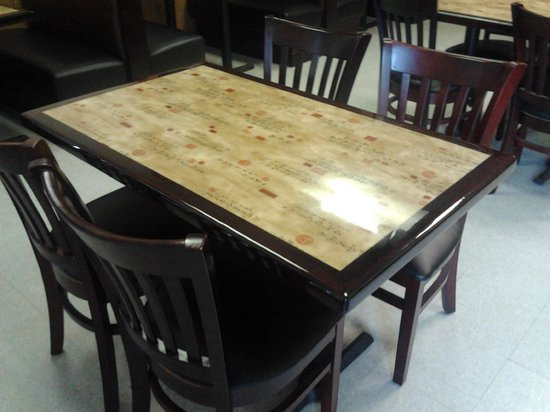 China Wok: Table and Chairs