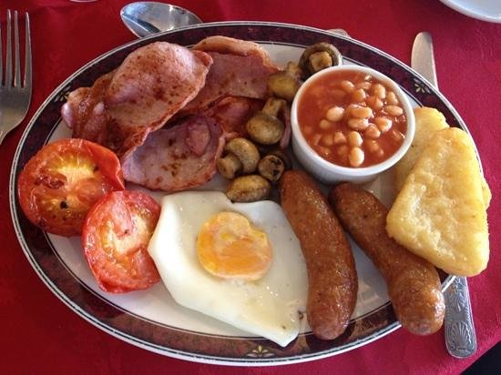 The Inn For All Seasons : The Inn for All Season's Wonderful Breakfast. Perfectly cooked. 10/10