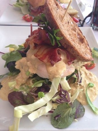 Cafe Norden: Their famous club sandwich, best ever