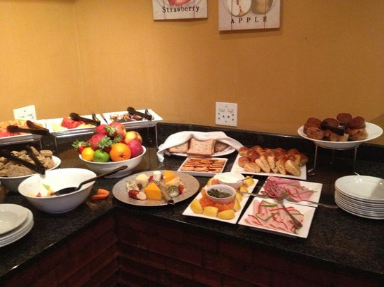 Faircity Falstaff Hotel: Full Breakfast Menu