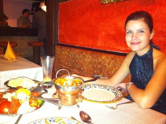 Indien Village: Dinner